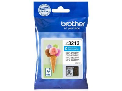 BROTHER Ink LC-3213C Cyan (LC3213C)