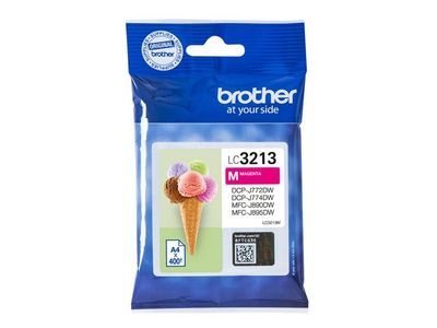 BROTHER Ink LC-3213M Magenta (LC3213M)