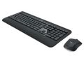 LOGITECH MK540 Advanced Wless KBD+Mouse NDX