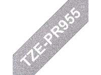 BROTHER Tapes TZePR955 24mm silver/ black