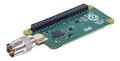 RASPBERRY PI TV HAT, DVB-T/T2, aerial input, fits on 40-pin boards