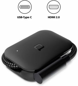 NoNDA HDMI DONGLE-BLACK (NDHDBKAMZ)