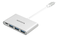 A-DATA ADATA USB-C TO 3PORTS USB-A 3.1 HUB