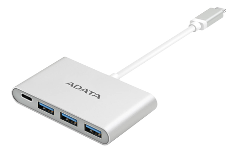 A-DATA USB-C TO 3PORTS USB-A 3.1 HUB (ACA3HUBAL-CSV)