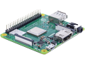 RASPBERRY PI 3 Model A+, enkortsdator,  Bluetooth,  Wi-fi, 512MB RAM
