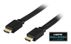 DELTACO - Video / audio / netværkskabel - HDMI - 19-pin HDMI (han) - 19-pin HDMI (han) - 1.5 m - sort