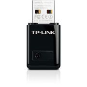 TP-LINK N300 WLAN Mini-USB-Adapter, 2,4GHz, 802.11b/g/n, QSS-Taste, Autorun-Tool, supports Windows XP/Vista/7/8 and MacOS
