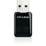 TP-LINK N300 WLAN Mini-USB-Adapter,  2,4GHz, 802.11b/ g/ n,  QSS-Taste,  Autorun-Tool,  supports Windows XP/ Vista/ 7/ 8 and MacOS