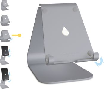 RAIN DESIGN mStand tabletplus - Space Gray (10055-RD)