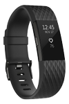 FITBIT Charge 2 - Gun Metal Large (FB407GMBKL)