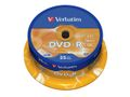 VERBATIM DVD-R Verbatim 4.7Gb 16x spindle (25)