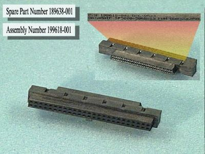 HP ADAPTER, 50/ 68 POS,FEM WSCSI (189638-001)