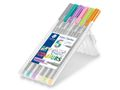STAEDTLER Fineliner Triplus 0,3mm Pastel ass (6)