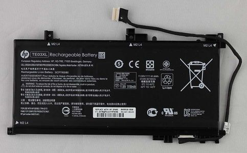 HP Battery 3 Cells 61Wh 5.37Ah (849910-850)