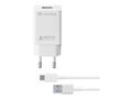 CELLULAR LINE USB-C Charger KIT 15W White