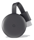 GOOGLE Chromecast (2018) Streaming Dongle WIFI Black NL