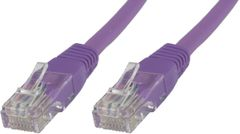 MICROCONNECT UTP CAT5E 0,5M PURPLE PVC