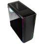 BITFENIX Enso Mesh RGB Midi-Tower, Tempered Glass - schwarz