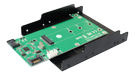 DELTACO SATA TO M.2 SATA SSD & SATA with tray design SupportM.2(NGFF) SATA SD (KT023B)