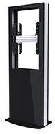 B-TECH Digital Signage Kiosk, Black (BT7001-65/B)