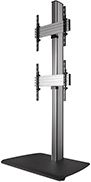 B-TECH SYSTEM X Floor Stand Black (BTF841/BB)