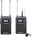 BOYA WM8 PRO-K1 UHF Single-Channel Wireless mic, 48 channels, 6 hours
