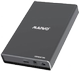 DELTACO USB3.1 Gen2  M.2 SSD enclosure USB3.1 Type C to M.2 SATA interface (K2527BN)