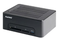 DELTACO bay HDD/SSD docking station, USB 3.0 Gen, black