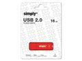 SIMPLY USB-Minne SIMPLY USB 2.0 16GB Cap