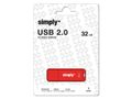 SIMPLY USB-Minne SIMPLY USB 2.0 32GB Cap