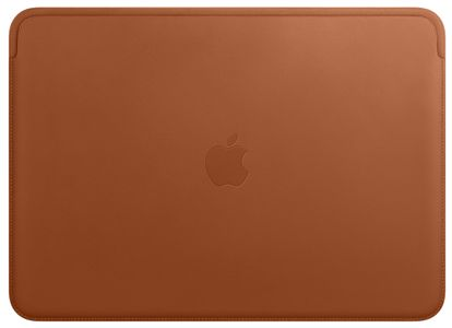 APPLE LEATHER SLEEVE FOR 13-INCH MACBOOK PRO ? SADDLE BROWN (MRQM2ZM/A)