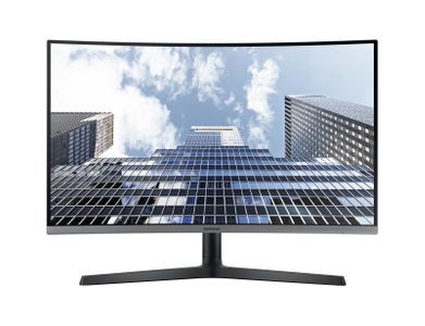 SAMSUNG 27__ C27H800 16_9 Curved (1800R) 1920x1080 VA-LED 3-side bezelless_ HAS/ Swivel/ Pivot 130mm H (LC27H800FCUXEN)