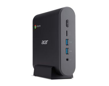 ACER CHROMEBOX CXI3 Celeron 3865U 4GB DDR4 RAM 32GB SSD Intel HD Graphics 610 Wlan ac HDMI TPM 1xUSB 3.1 Type-C VESA-kit CHROME OS (DT.Z0NMD.001)