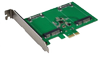 DELTACO Support mini SATA SSD x2 to 6Gbps