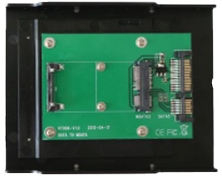 DELTACO SATA TO mSATA kit Support mSATA  SSD:30*30mm, 30*50mm