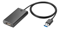 HP UHD USB Graphics Adapter (N2U81AA#AC3)