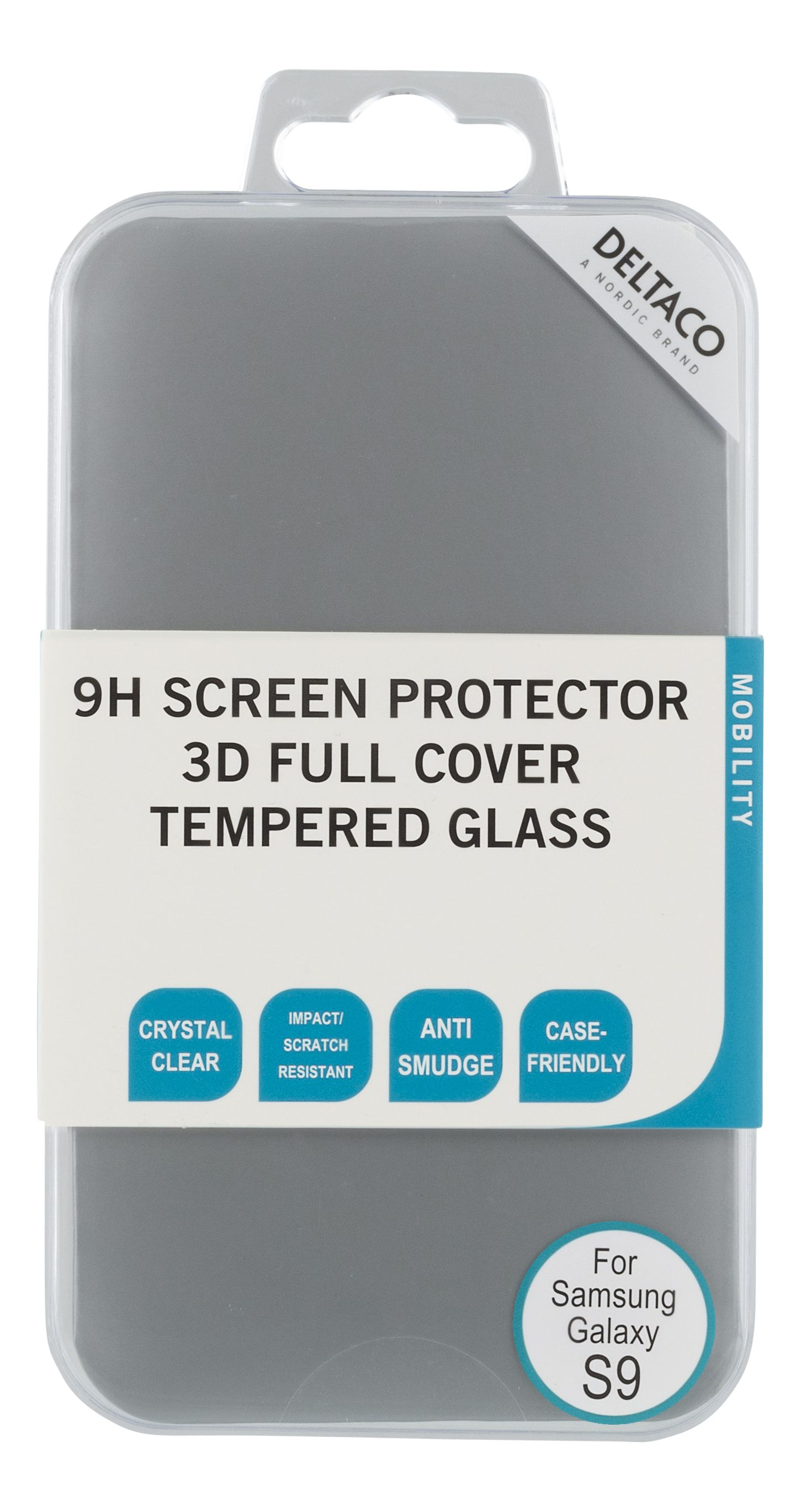 Deltaco Screen Cover for Galaxy S9 (S9-100)
