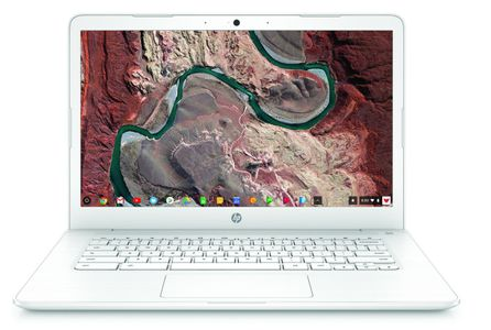 "HP Chromebook 14"" HD Matt Celeron N3350, 4GB RAM, 64GB SSD, Google Chrome OS (5KP75EA#UUW)"