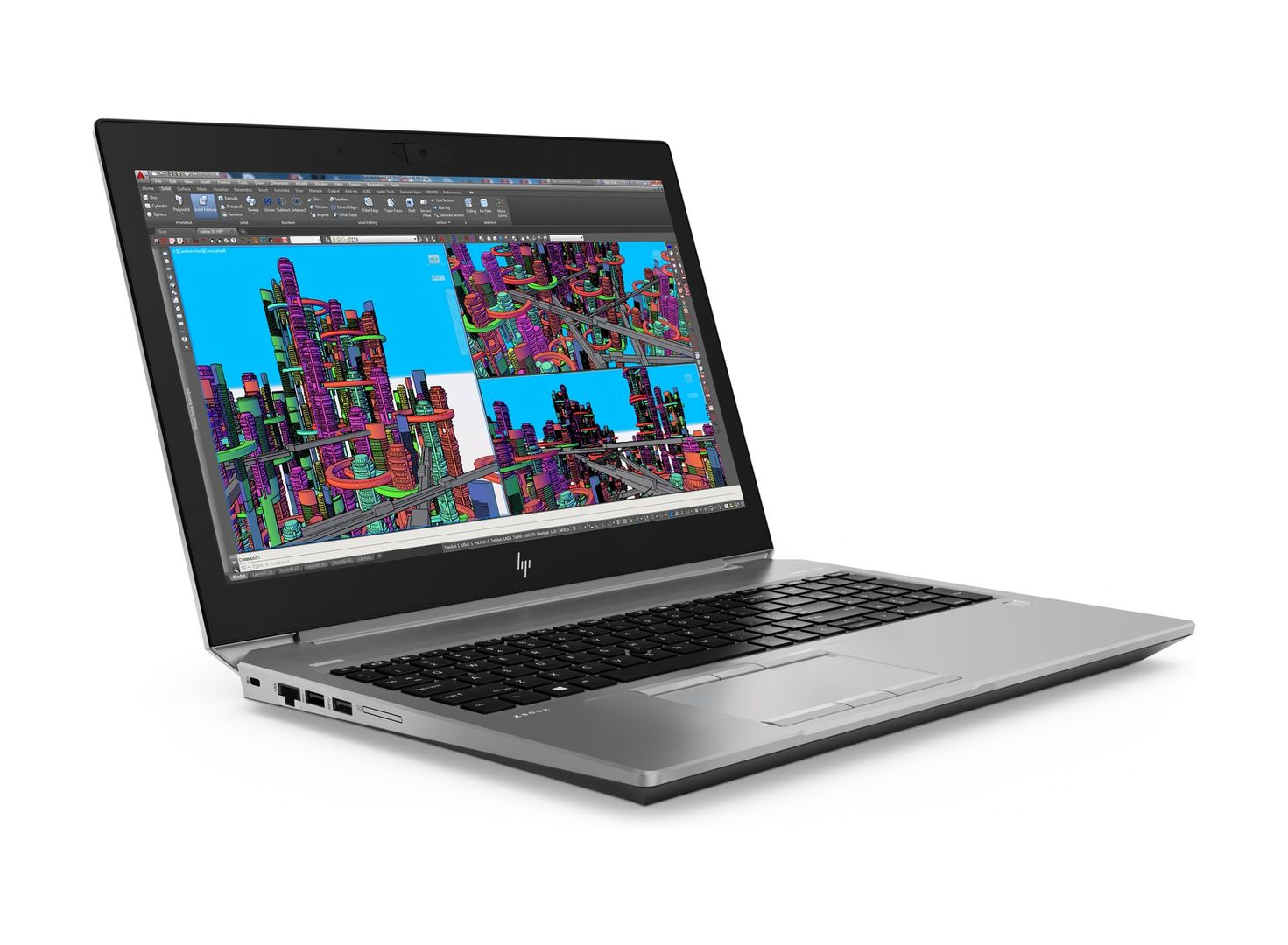 HP - ZB15G5 I7-8750H 16GB/256 15IN W10P NOOD SS SYST
