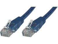 MICROCONNECT UTP CAT5E 0.3M BLUE PVC MICRO (UTP5003B)