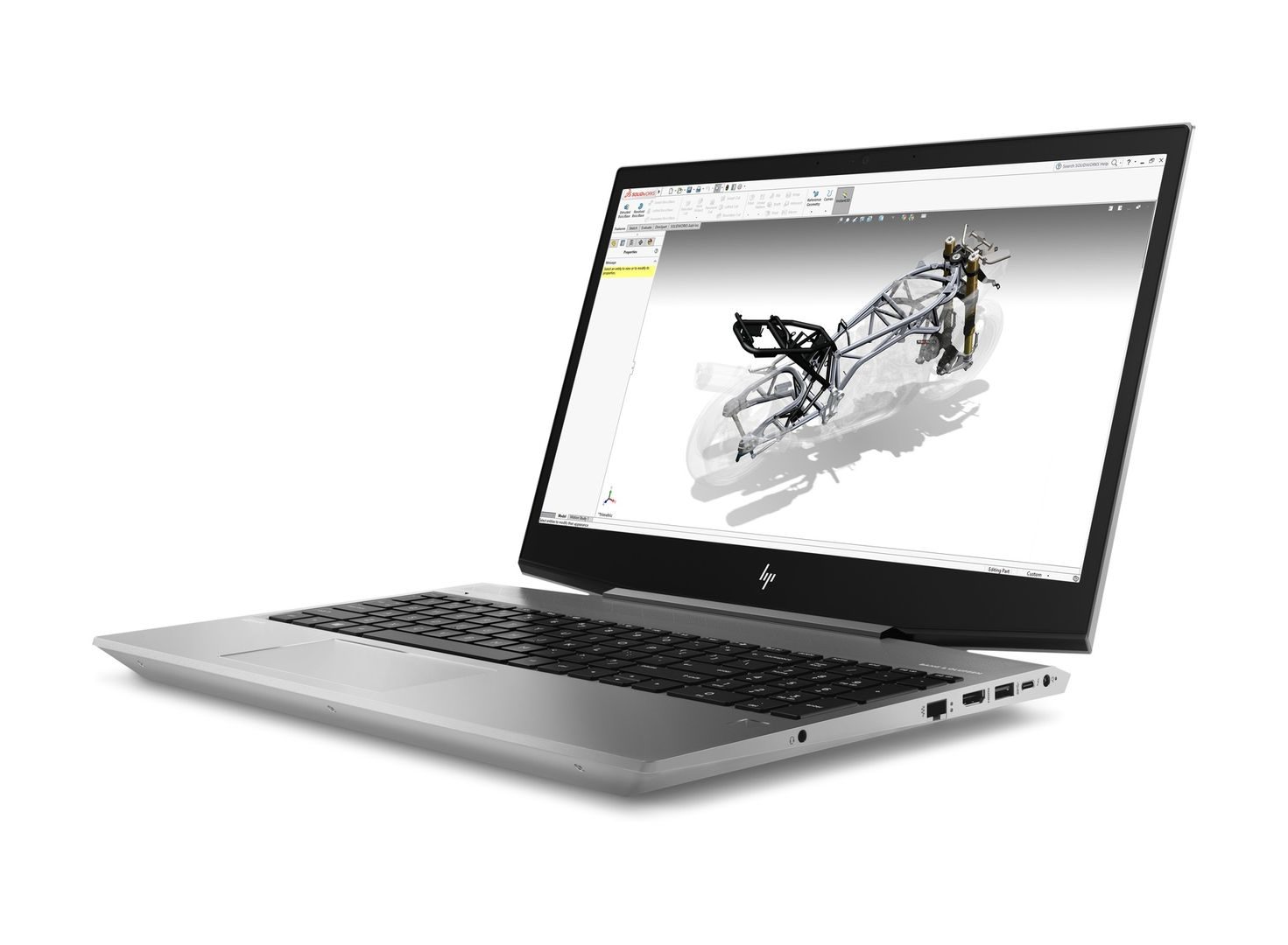 HP ZBook 15v G5 Mobile Workstation - Core i7 8750H   2.2 GHz - Win 10 Pro  64-bitars - 16 GB RAM - 512 GB SSD - 15.6