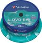 VERBATIM DVD-RW Verbatim 4.7Gb 4x spindle (25)