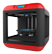 FLASHFORGE Finder, 2nd gen, Wifi, SD card, USB cable, red/black