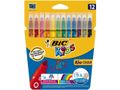 BIC Fiberpenn BIC Couleur ass. farger (12)