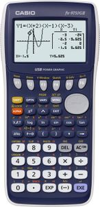 CASIO Graphing Calculator-Blue (FX-9750GII)