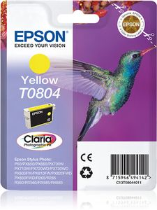 EPSON Ink Cart/ Yellow CL Stylus Photo Series R (C13T08044021)