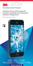 3M Natural View Ultra Clear Screen Protector for iPhone 5/ 5s/ 5c/ SE (NV828748)