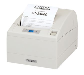 CITIZEN CT-S4000, USB, cutter, white (CTS4000USBWH)