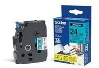 BROTHER TZe tape 24mmx8m black/ blue (TZE-551)