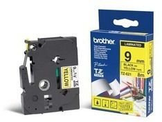 BROTHER Tape BROTHER TZe-621 9mmx8m sort/gul (TZE-621)